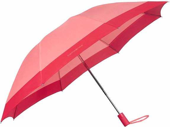 Samsonite Umbrella Up Way Safe, Automatic Coral / Strawberry - Shop Online At Best Prices!