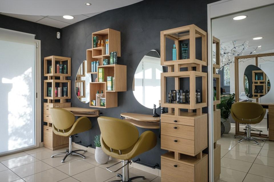 salon de coiffure coin homme