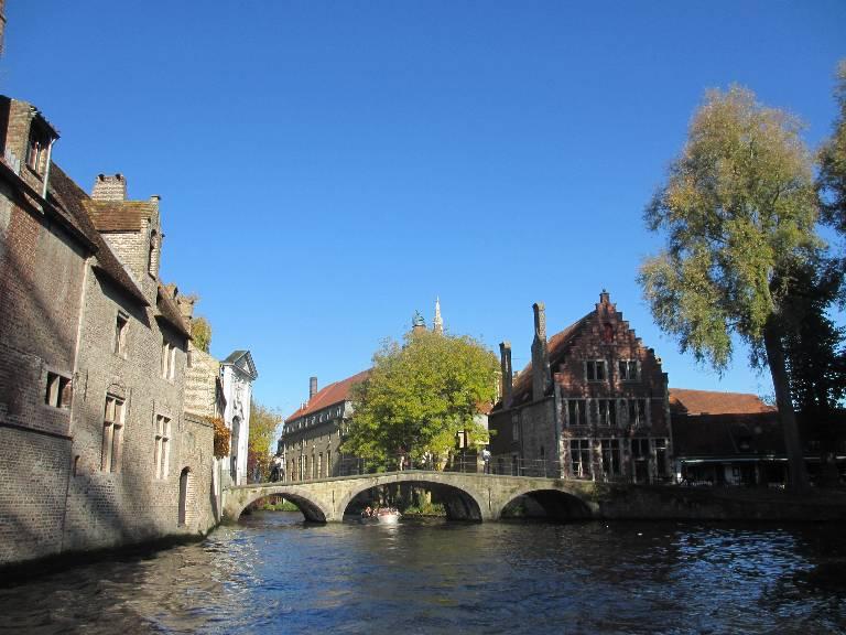 Balade sur le canal - Bruges