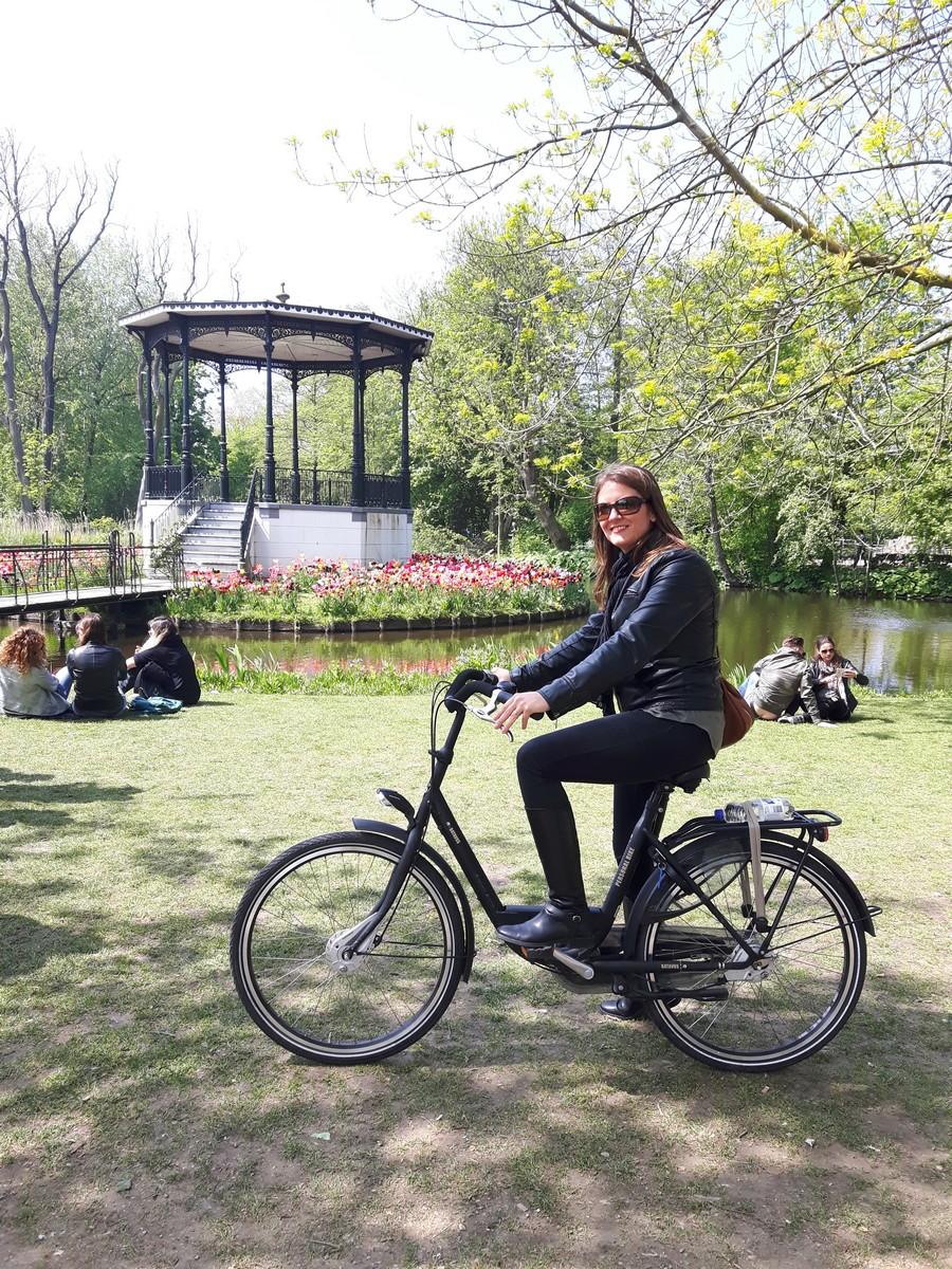 Balade à vélo au Vondelpark