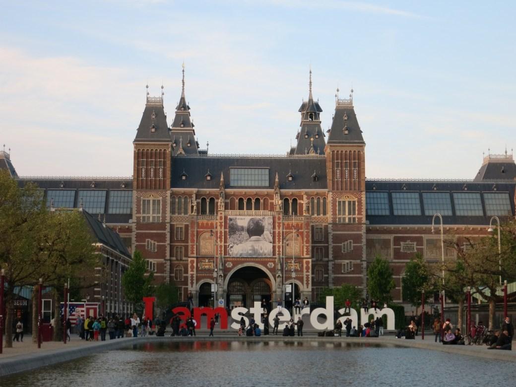 Museumplein place des musées Amsterdam, I am amsterdam