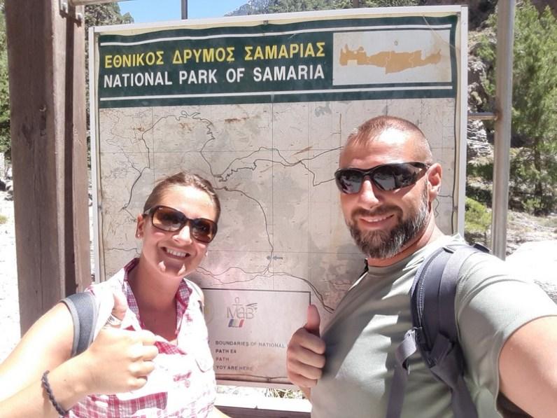Gorges de Samaria - Entrée Côté Agia Roumeli