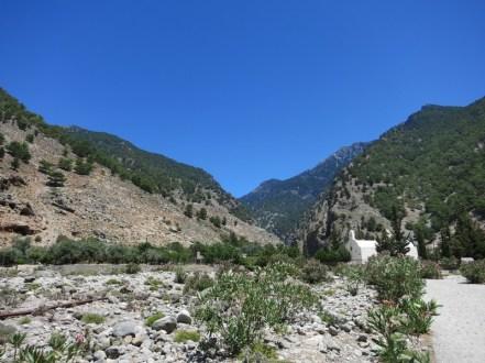 Gorges de Samaria - Chapelle de l'ancien village Agia Roumeli