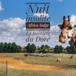 nuit insolite africa lodge la boissiere du dore