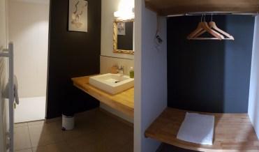 salle de bain Africa lodge La Boissiere du Doré