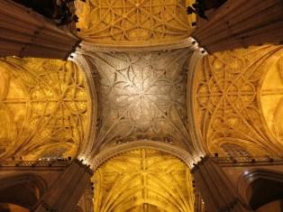 Cathédrale de Séville - voûtes sculptées