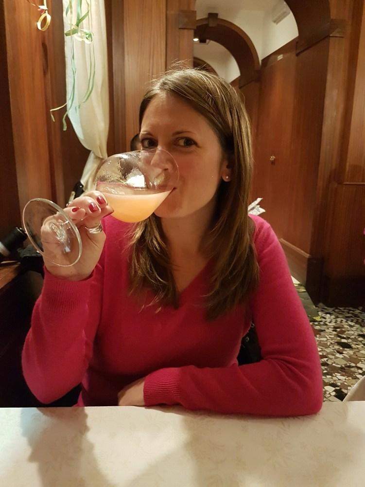 J'ai craqué pour le Bellini, cocktail mytique de Venise