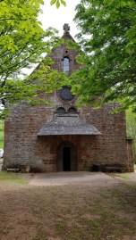 la chapelle de Foncourrieu à Marcillac
