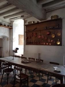 Les cuisines du château du Plessis-Bourré