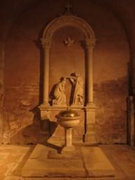 visite de L'Abbatiale Sainte-Foy de Conques de nuit