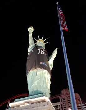 Statue de la Liberté à Las Vegas