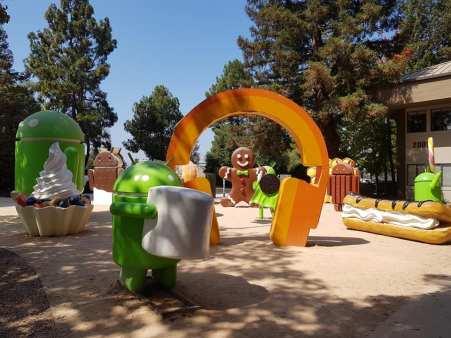 Campus de Google - Silicon Valley