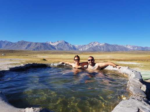 Hilltop Hot Spring - Mammoth Lakes 1
