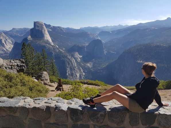 Vue depuis Glacier Point - Yosemite National Park
