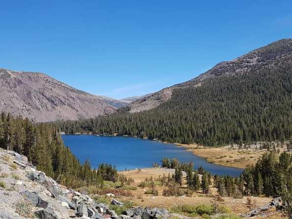 Yosemite par la Tioga road