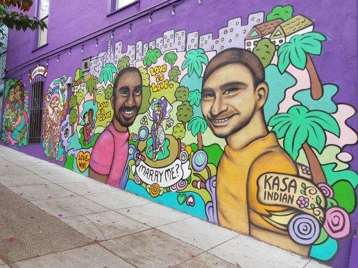 street art quartier Castro - San Francisco