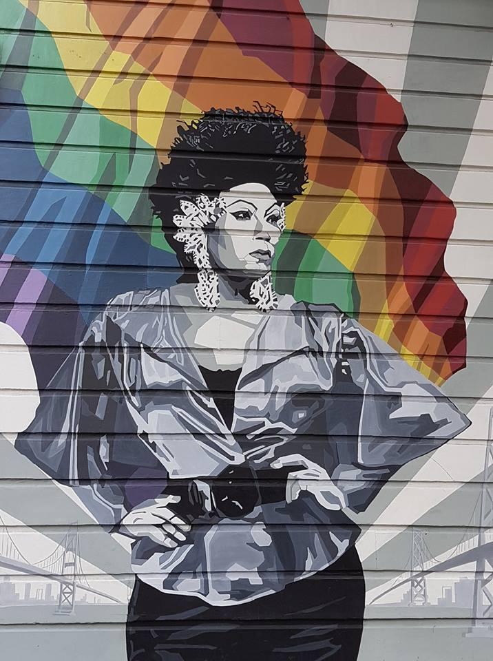 tag quartier Castro, le quartier gai de San Francisco