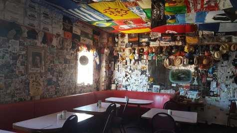 Intérieur du Bagdad Café - Route 66