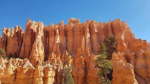 Les pics rocheux de Bryce Canyon