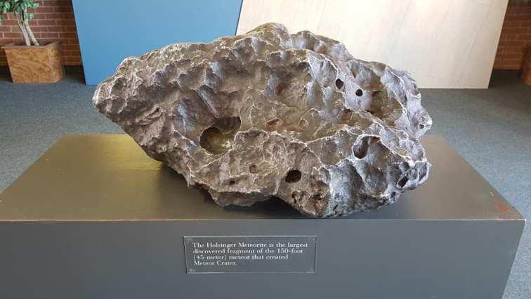 Meteor Crater - Musée