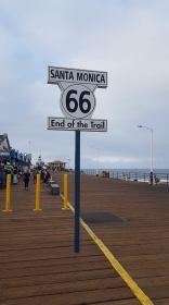 Santa Monica - Fin de la route 66