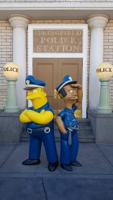 Springfields Police station - Universal Studios