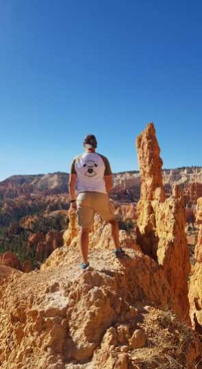 Vue spectaculaire sur Bryce Canyon