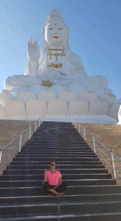 Wat Huay Pla Kung (Buddha géant blanc) - Chiang rai