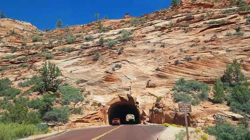 Tunnel de Zion Park