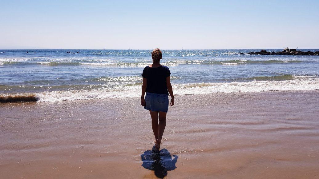 la mer à Venice Beach