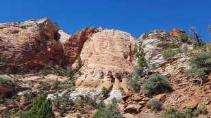 les rochers de Zion Park