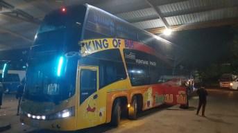 Bus de nuit au Laos