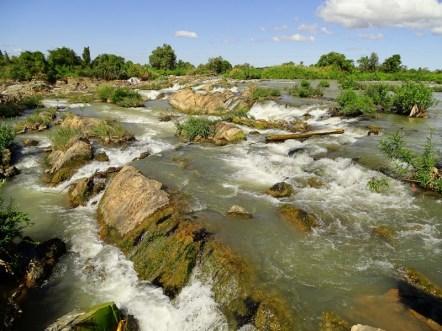 cascade sur l'île de Don Khone - 4000 îles au Laos