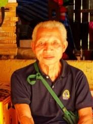 portrait d'unhomme laotien