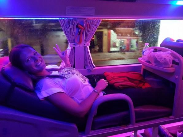 Transport Vietnam - sleeping bus