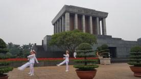 mausollée de Ho Chi Minh - Hanoi