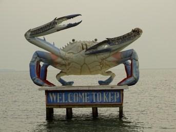 Kep - ville du crabe - Cambodge