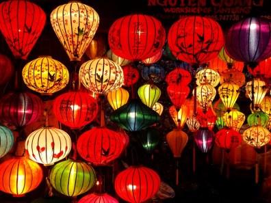 lanternes colorées de Hoi An
