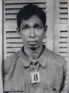 Portait musée Tuol Sleng prison S21 Phnom Penh - Cambodge