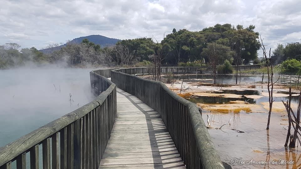 Kuirau Park Rotorua Nouvelle-Zélande