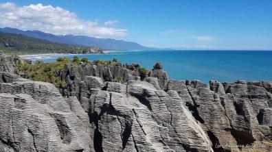 Pancakes rocks Nouvelle-Zélande