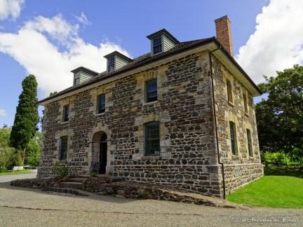 Le plus vieux bâtiment en pierre à Kerikeri Nouvelle-Zélande