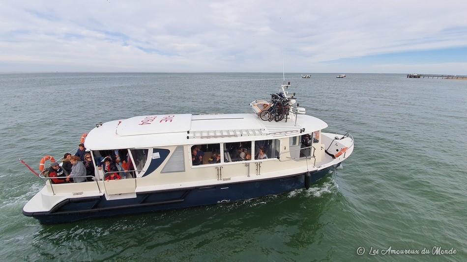 Navette pour rejoindre le Cap Ferret - Arcachon