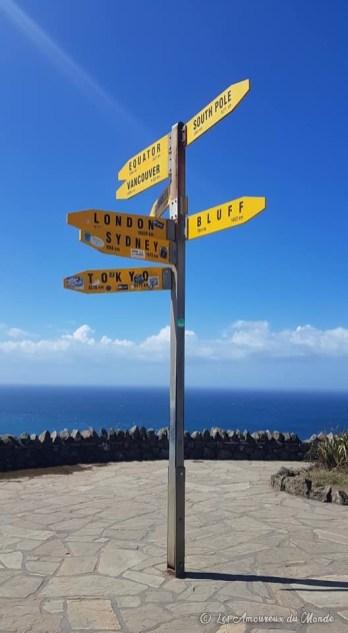 Cap Reinga en Nouvelle-Zélande