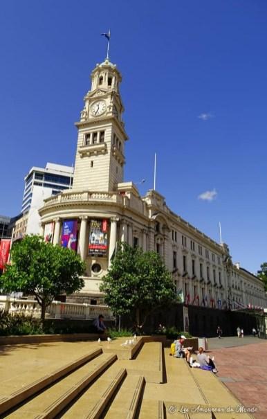 L'ancien hôtel de ville de Auckland