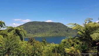 Lac bleuTikitapu - Rotorua - Nouvelle-Zélande