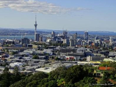 vue du mont Eden - Auckland