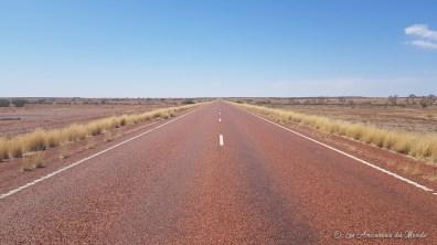 Sur la route vers Coober Pedy - Australie
