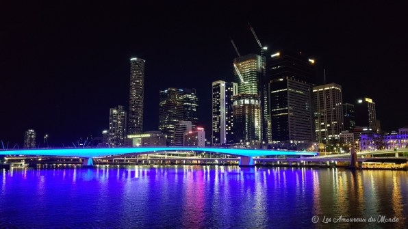 Brisbane by night - Australie