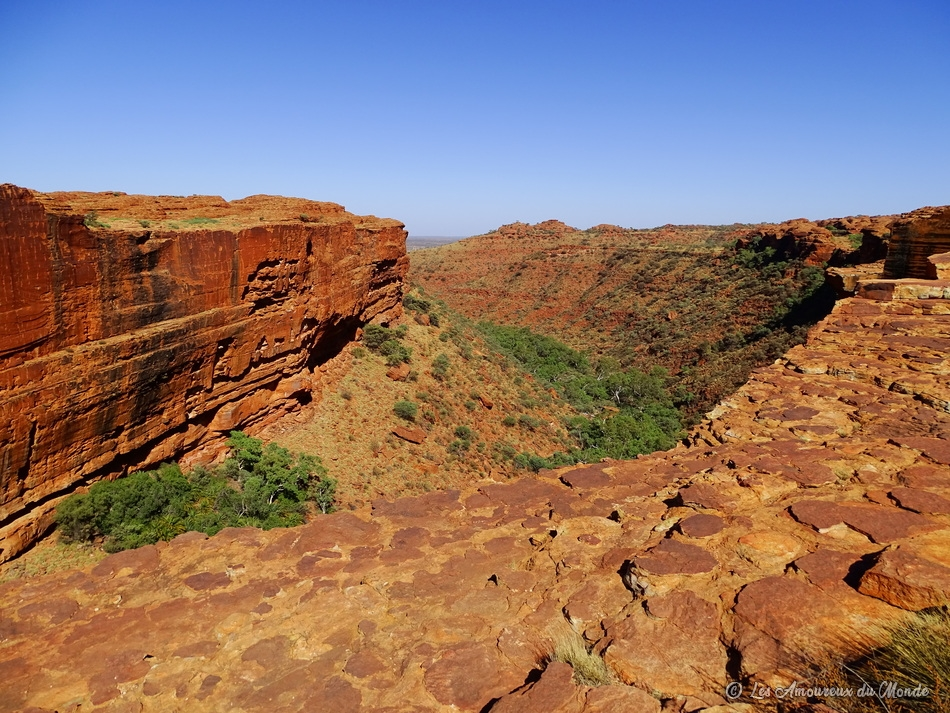 Kings Canyon Rim walk - Australie